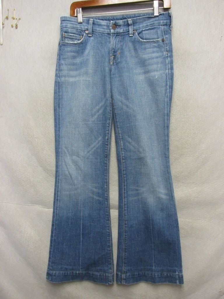 D3990 Citizens of Humanity Low Waist Full Killer Fade Stretch Jeans Women 31x30