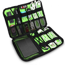 Travel Portable Drive Storage Organizer Bag Case Memory Card USB Cable Earphone
