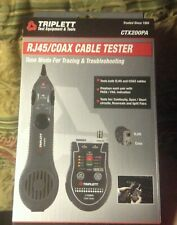 Triplett Rj45 Network Cablecoaxial Tester With Inductive Probe Ctx200pa