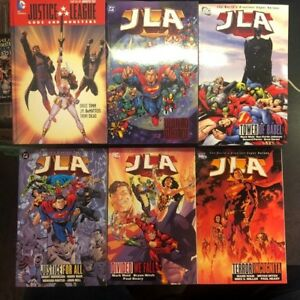 Details about Justice League JLA Trade Lot Tower of Babel World War 3 Gods  and Monsters More
