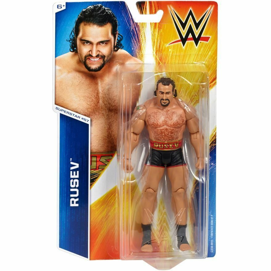 Wwe Rusev Nxt Basic Neu Serie 54 Mattel  57 Aktion Wrestling Actionfigur Lana
