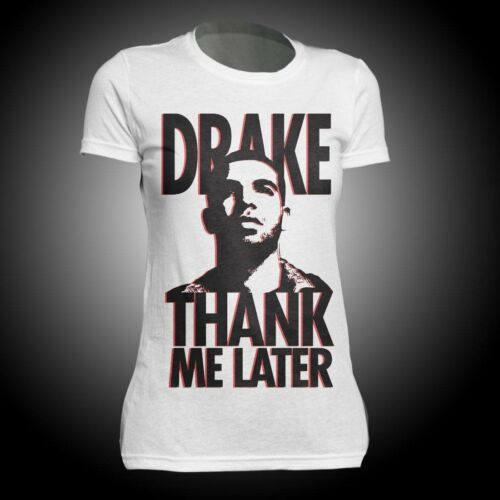 New: DRAKE - Thank Me Later (Juniors fitted girlie) Concert T-Sh