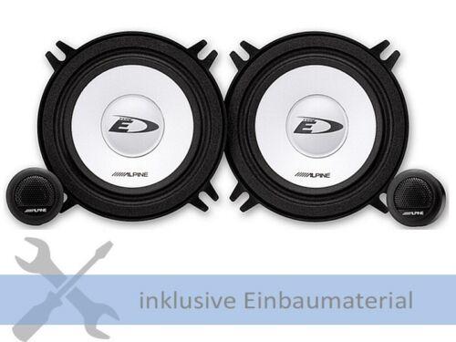 Alpine altavoces sxe1350s 250w 130mm 2 vías componentes para bmw 3er Limousine e36