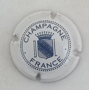 capsule champagne DUVAL LEROY n°12 blanc et bleu foncé xXcjUZPr-09093452-948772763