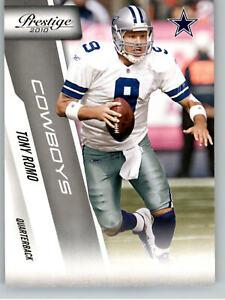 2010 Playoff Prestige #58 Tony Romo - Dallas Cowboys