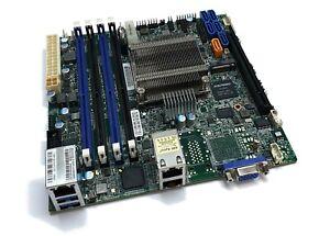 Supermicro-X10SDV-F-Intel-Xeon-D1540-8Core-CPU-mITX-Server-Mainboard-PCIe-x16