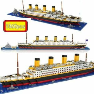 1860-EP-titanic-cruise-ship-building-bricks-blocks-lego-boat-sets-3d