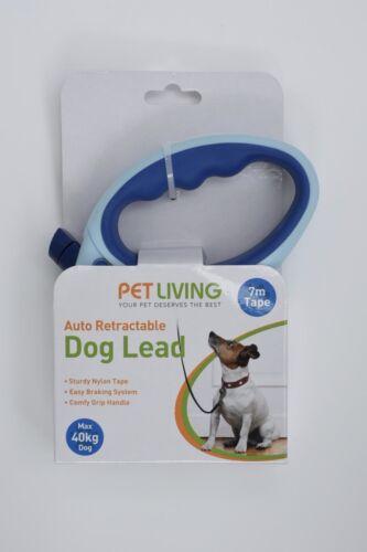 Plomo de perro de nylon retráctil automático cinta 12-40kg 3-7Mts!