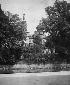 GREIZ-SCHLOSS-Dia-Diapositiv-Glas-historisch-vor-1930-Raritaet-Sammlerstueck-rar