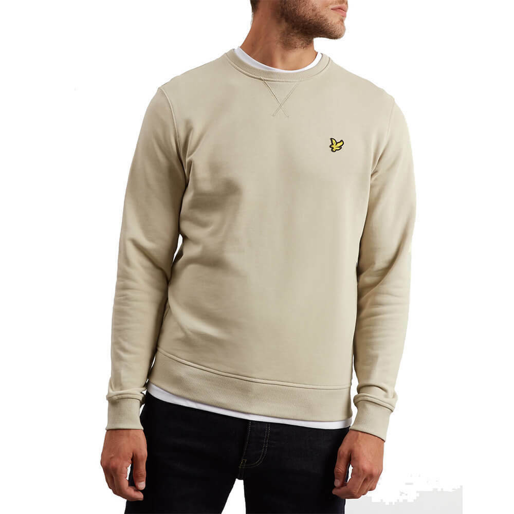 LYLE & SCOTT SWEATSHIRT CREW NECK ML424VB Z363 GRÜN STONE