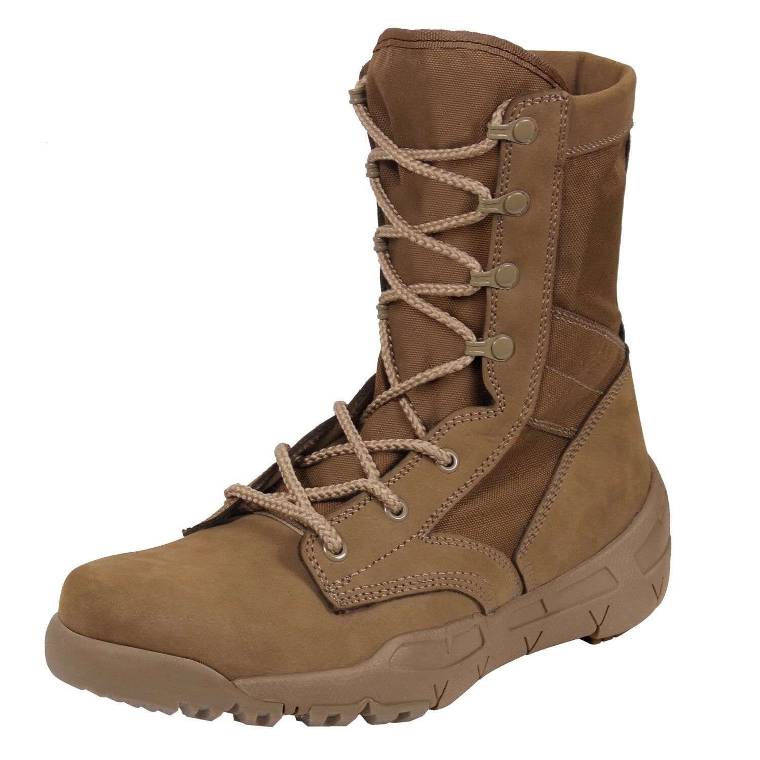 Boot V-Max Lightweight AR 670-1 Coyote Brown Tactical  5366 Rothco