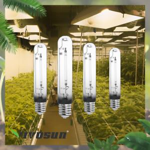 VIVOSUN 4-Pack 250 Watt High Pressure Sodium HPS Grow Light Bulb Lamp