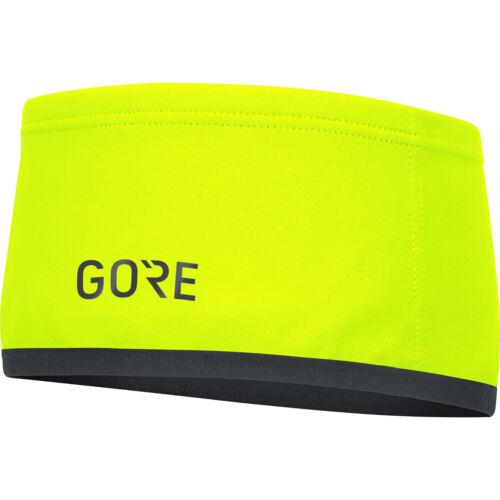 GORE WINDSTOPPER Headband Größe 2 Stirnband Fahrrad neongelb Kopfbedeckung