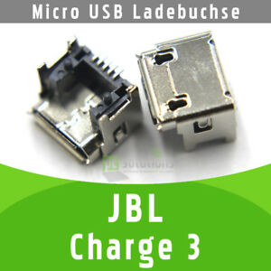 JBL Charge 3 Bluetooth Lautsprecher Micro USB DC Buchse Ladebuchse Strombuchse