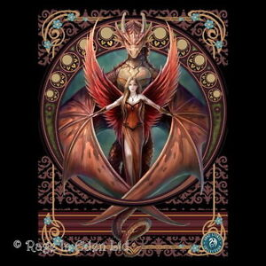 Inner Sanctum Anne Stokes Dragon encadrée Toile imprimer FANTASY//Mythe.