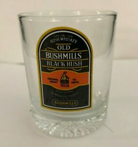 Old-Bushmill-Black-Irish-Whiskey-2-034-Tall-Shot-Glass