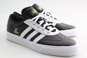 Adidas Men Adi-Ease Universal ADV black footwear white gold metallic ... 958a73d53