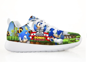 New Sonic The Hedgehog Kids Gaming Sneakers 38 Styles Many Sizes 11 Thru 3 Youth Ebay