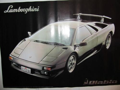 LAMBORGHINI DIABLO CAR POSTER PRINT JOHN KRELLE 1992 (44)