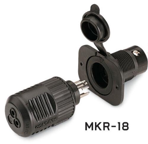 Minn-Kota MKR-18 Trolling Motor 12V Plug /& Receptacle 1865102