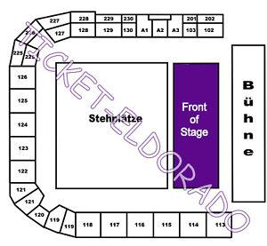IRON MAIDEN Prag Prague Front of Stage Tickets Karten 20.06.2022 statt Stuttgart