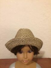 Fedora Straw Hat From Gap Baby. Toddler  100% Natural  Brown Beige size M-L EUC