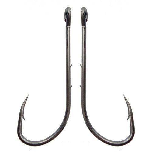 100pcs Fishing Hook 6#-6//0# Fish Hook Baitholder Jig Big High Carbon Steel Hooks