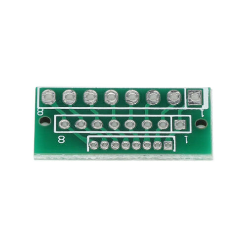 3 Row Adapter Plate 10 Pieces 1.27MM 2.0MM 2.54MM 8 Pin Adapter Plate 3 Row 24