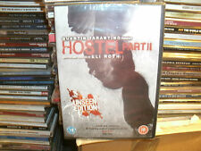 Hostel Part 2 (DVD, 2007) UNSEEN EDITION,QUENTIN TARANTINO