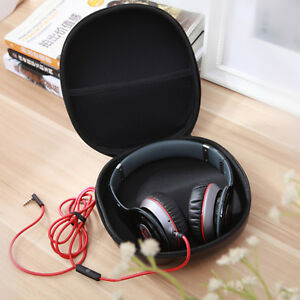 Black-Carrying-Hard-Case-Storage-Bag-Hold-for-Earphone-Headphone-Headset-Earbuds