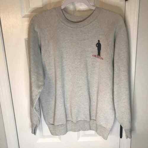 Vintage Oneita Charlie Chaplin Sweatshirt Rare Lg