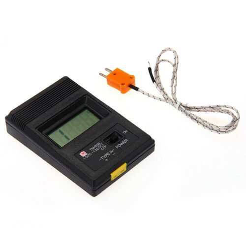 TM-902C Digital LCD K Type Thermometer Meter Single Thermocouple Probe ASS