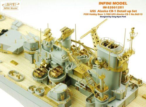1//350 Infini Models USS Alaska CB-1 Super Detail Set