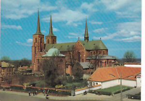 The Cathedral Roskilde Denmark Postcard Unused VGC - Rochester, United Kingdom - The Cathedral Roskilde Denmark Postcard Unused VGC - Rochester, United Kingdom