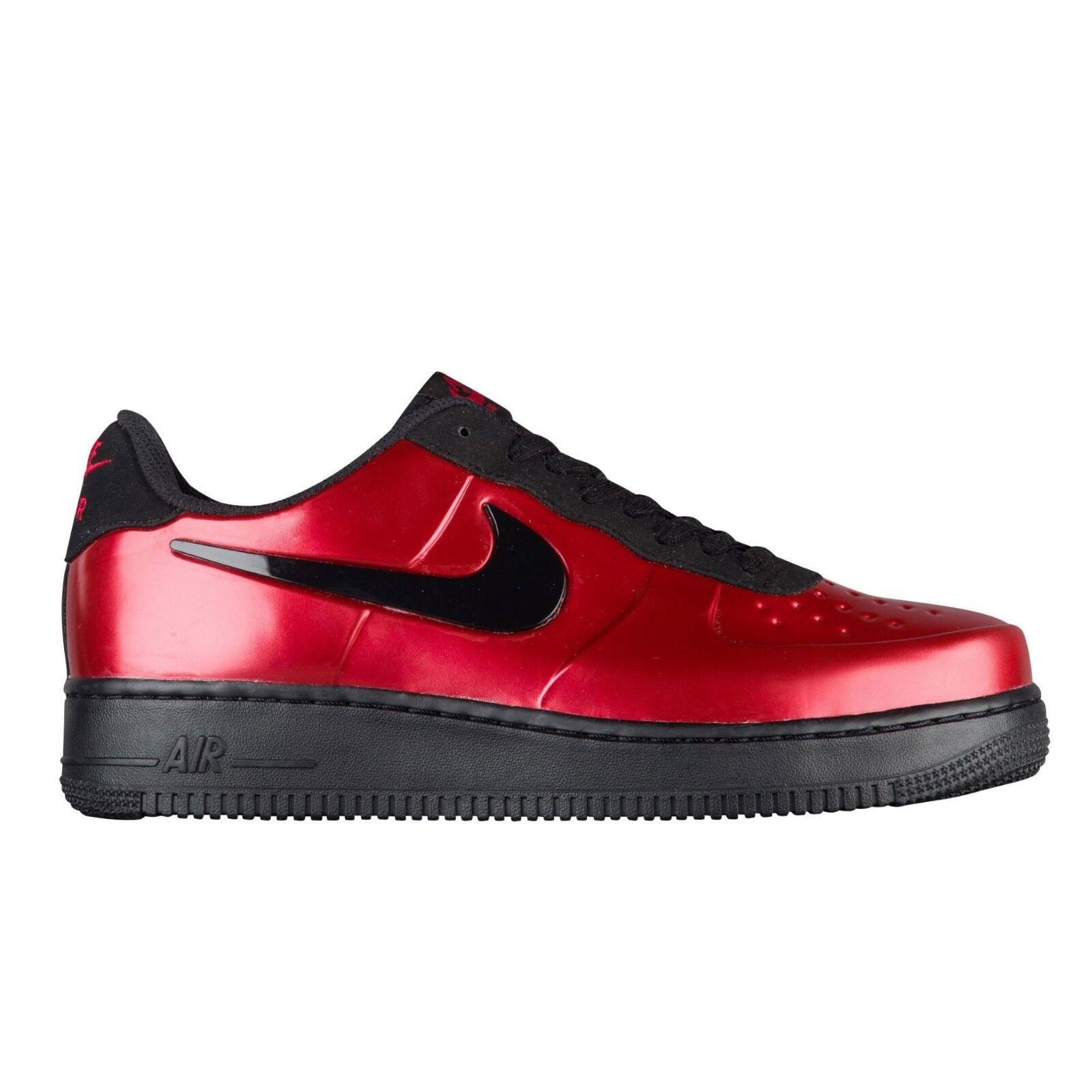 Nike uomini foamposite pro cup new vera palestra rosso / nero aj3664-601