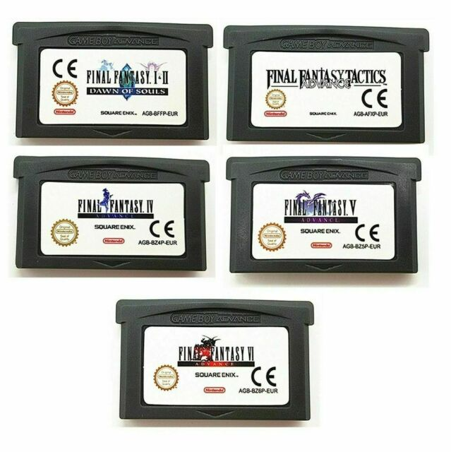 Final Fantasy I + II IV V VI 1+2 4 5 6 Cartouche pour Game Boy Advance Game Boy Advance NDS NDSL