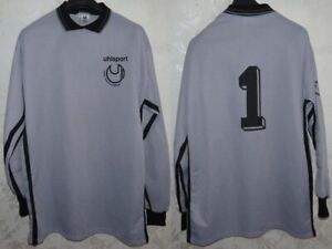 Jersey Shirt Maillot Trikot Football Portiere Goalkeeper Torwart Uhlsport D10/11