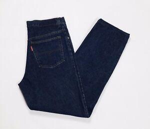 Duk-jeans-uomo-w36-tg-50-denim-blu-straight-slim-usato-vintage-boyfriend-T2788