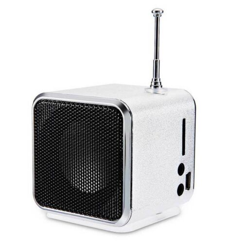 USB Mini Digital Speaker FM Radio MP3 Music Box TD-V26 with Micro SD TF