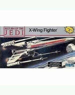 Regreso del Jedi de Estrella Wars Vintage 1989 12 'X-wing Fighter Modelo edificio KF S