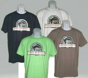 FLBASSTOURNAMENTS-COM-T-SHIRT-Tee-Florida-Bass-Fishing-S-M-L-XL-blue-green-white