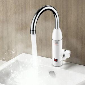 220V Elektrische Wasserhahn Küche Waschbecken Heiß Armatur ...