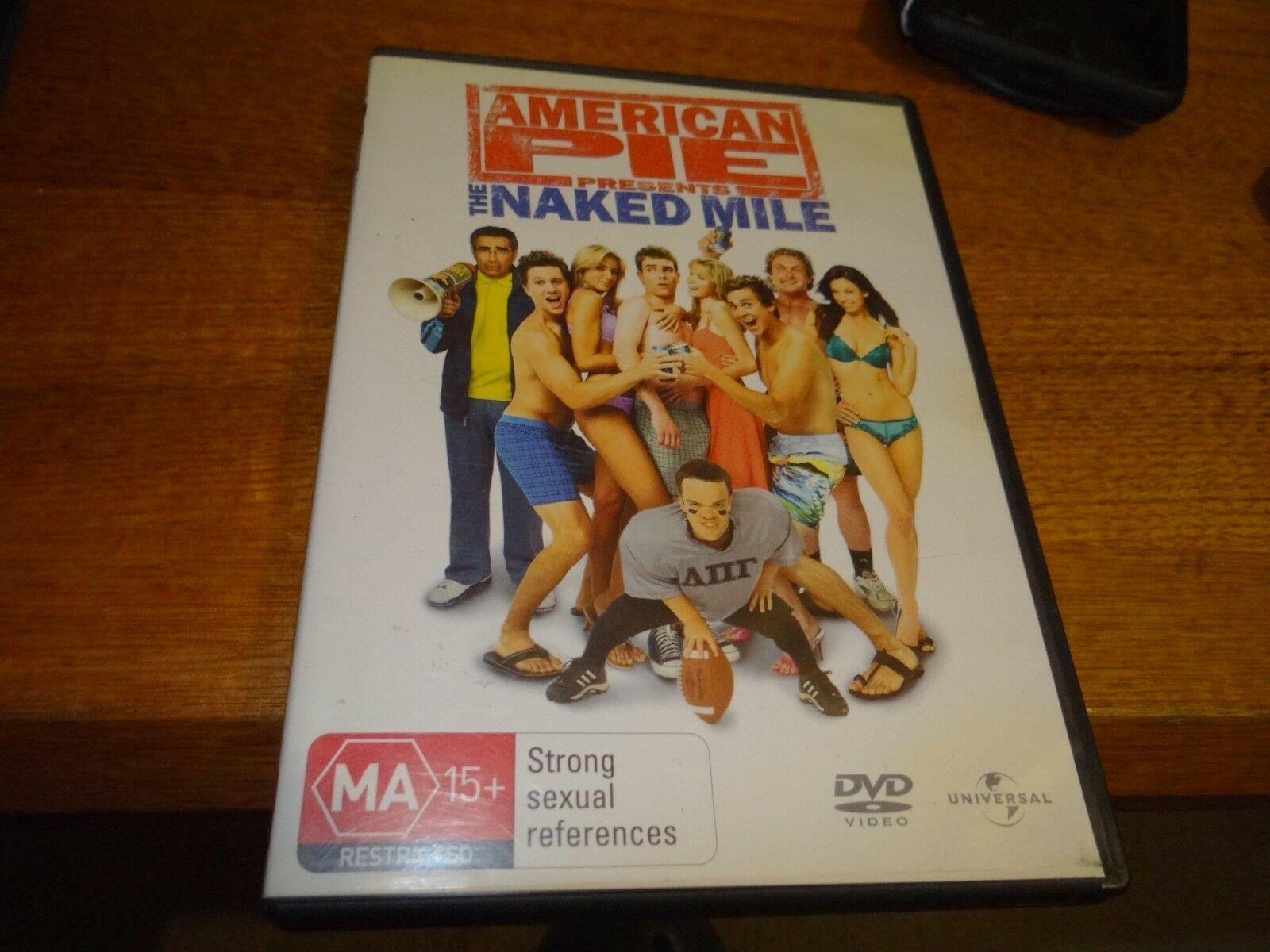 American Pie Presents The Naked Mile 2006 american pie presents the naked mile dvd *cheap*
