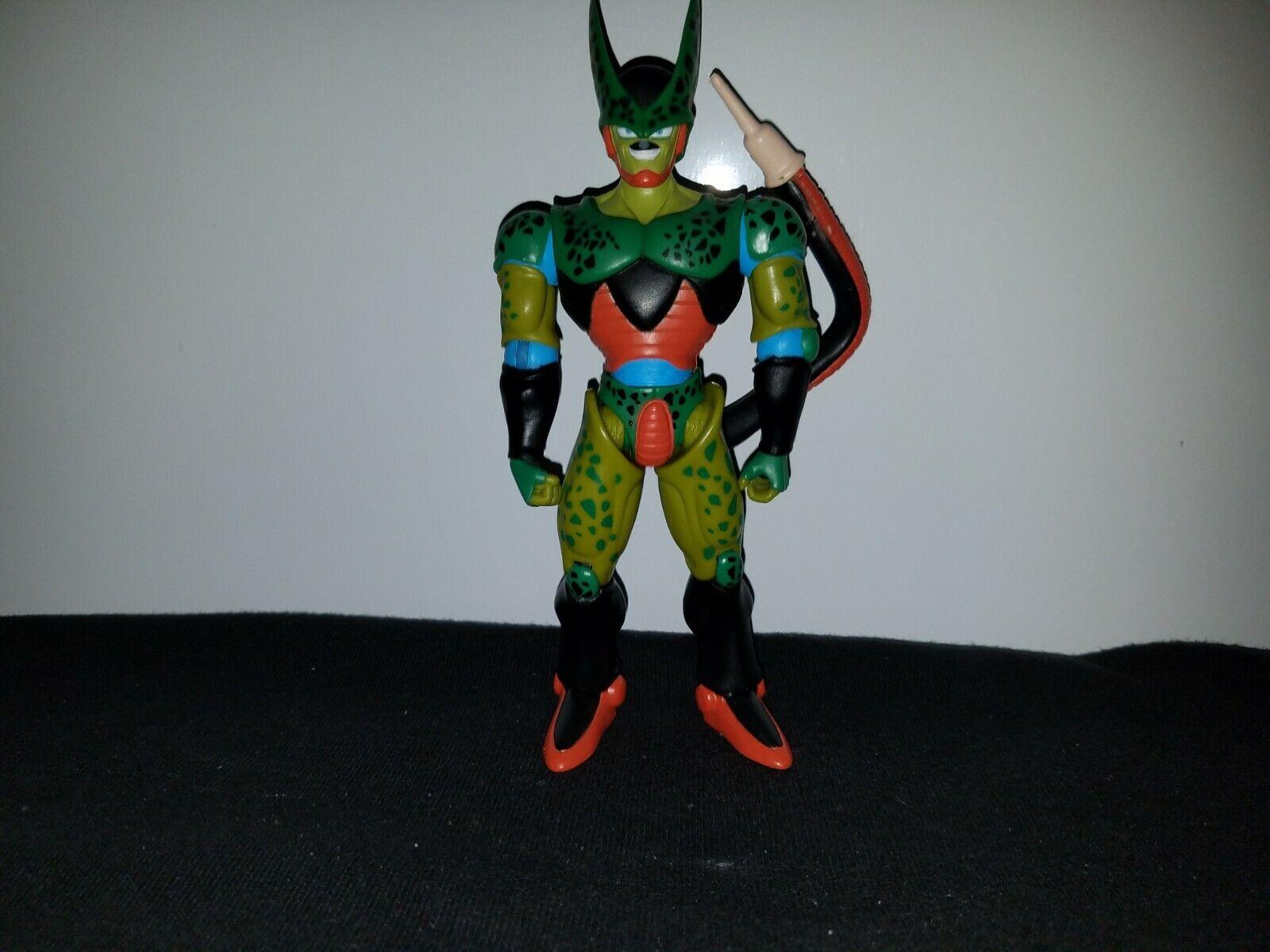 Dragon Ball Z DBZ GT Irwin JAKKS Semi Perfect Cell 2nd Form 2003 Action Figure