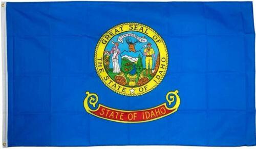 IDAHO FLAG 5/' x 3/' USA American United States of America US State Flags Boise