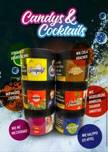 Candys & Cocktails Shisha Tabak Wasserpfeifentabak
