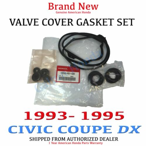 1993-1995 Honda CIVIC Genuine Valve Cover Gasket SET NON-VTEC