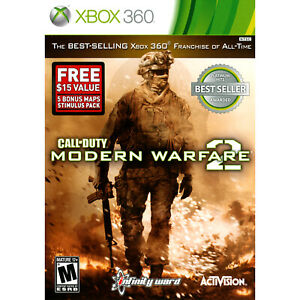 Details about Call of Duty: Modern Warfare 2 with Bonus DLC Xbox 360 [Brand  New]
