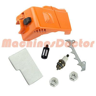 Engine Shroud Top cylinder Air Filter cover 4 STIHL 017 018 MS170 MS180 Chainsaw
