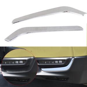 ABS Chrom Nebelscheinwerfer Blende Abdeckung 2 St/ück